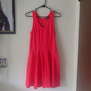 Express Pink lacy dress